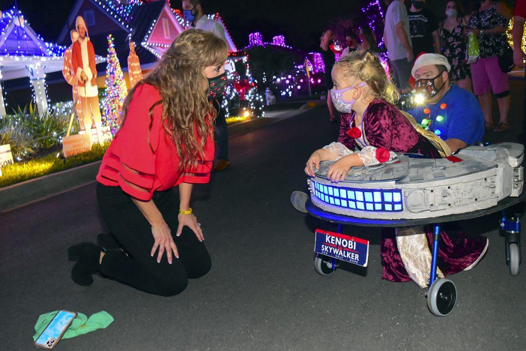 Jodi Benson and Wish Princess